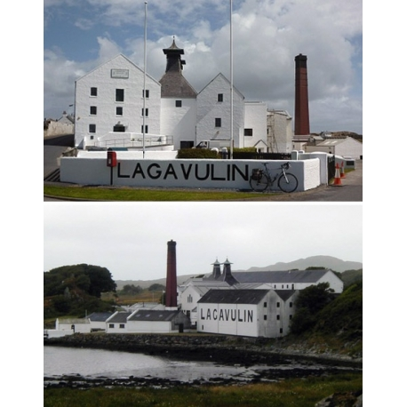 Images de Lagavulin (Single Malt Whisky - Islay - Ecosse)