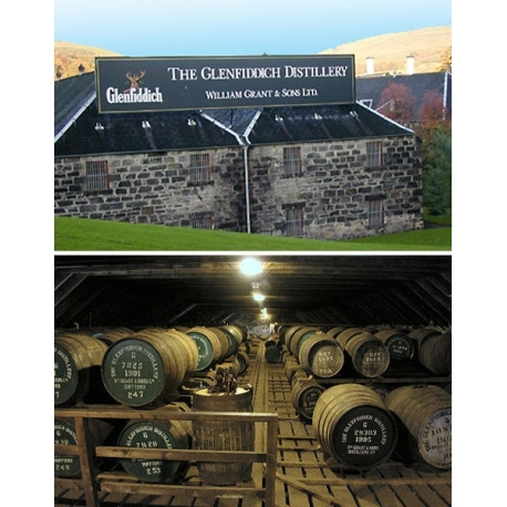 Images de Glenfiddich (Single Malt Whisky - Speyside - Ecosse)