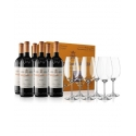 Marqués de Murrieta Reserva (Gift Pack 6 un. + 6 wine glasses)