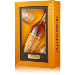 Glenmorangie The Original 10 Años (Gift Pack 1 un. + 2 whisky glasses)
